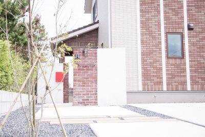 茨城県神栖市【素材を活かす門袖】