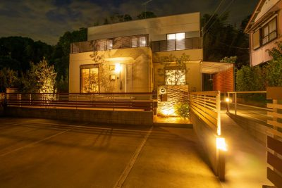 千葉県匝瑳市【建物全体を包み込む暖かいお庭に大変身】